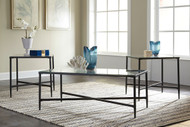 Augeron Black Occasional Table Set