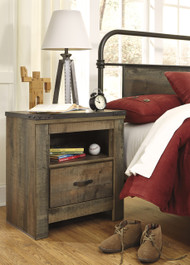 Trinell One Drawer Night Stand: Brown