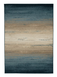 Ignacio Blue/Tan Medium Rug