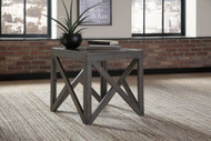 Haroflyn Gray Square End Table