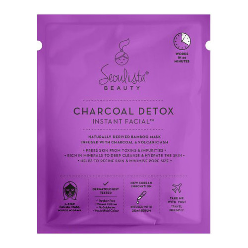 Seoulista Charcoal Detox Instant Facial