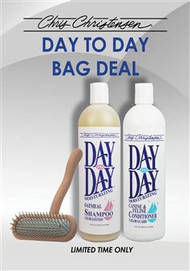 Day-to-Day Bag Deal - Free Shampoo & Conditioner with purchase of Original 16mm T-Brush