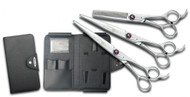 "Kenchii Scorpion 9"" 3 Piece Set Shears"