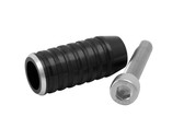 Gear Shifter/Lever End Peg - Black - RIBBED
