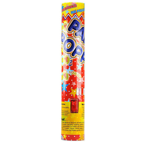 30cm party popper confetti cannon