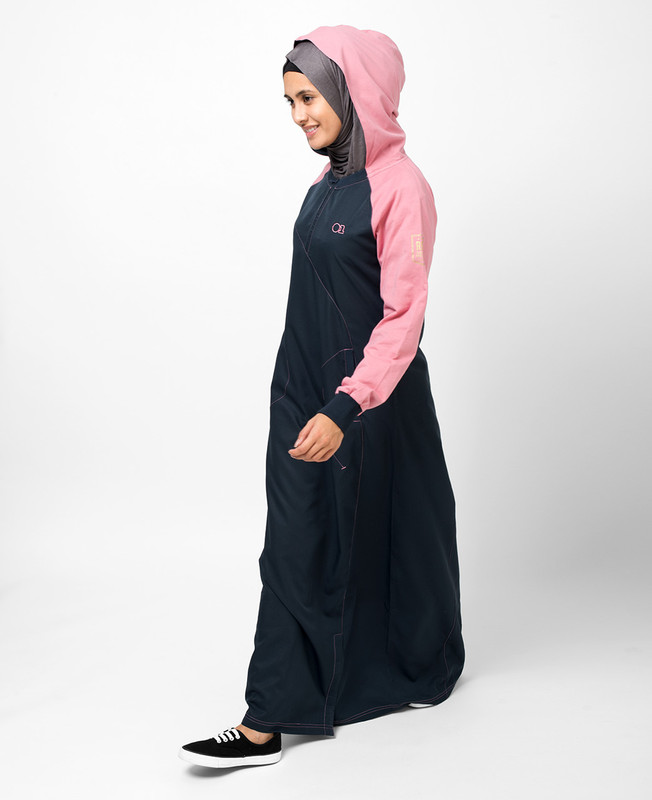 Hooded Zip Jilbab