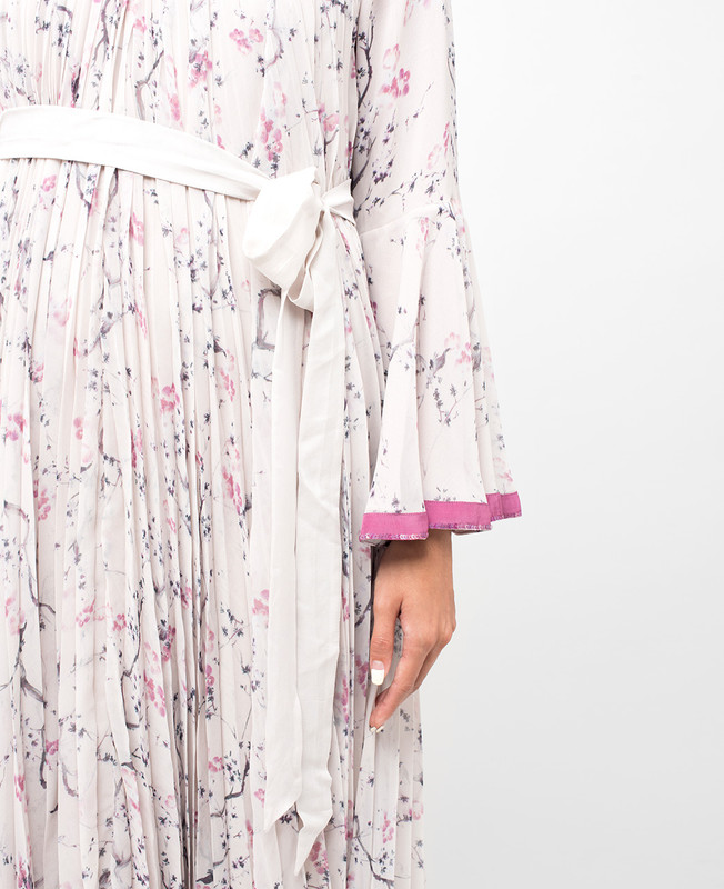 Floral Lined Maxi