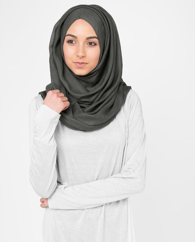 Ivy Green Viscose Hijab