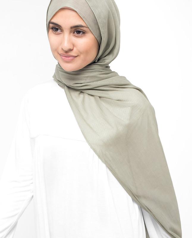 London Fog Cotton Voile Hijab