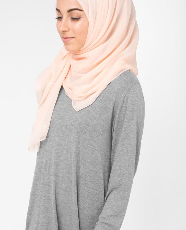 Spanish Villa Beige PolyChiffon Hijab