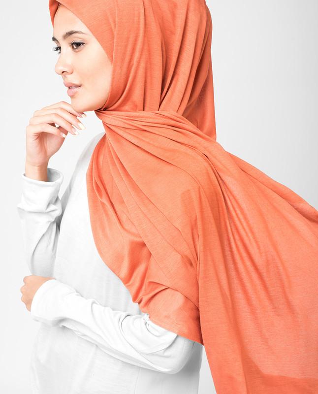 Mango Orage Viscose Jersey Hijab