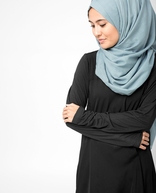 Citadel Blue Voile Hijab