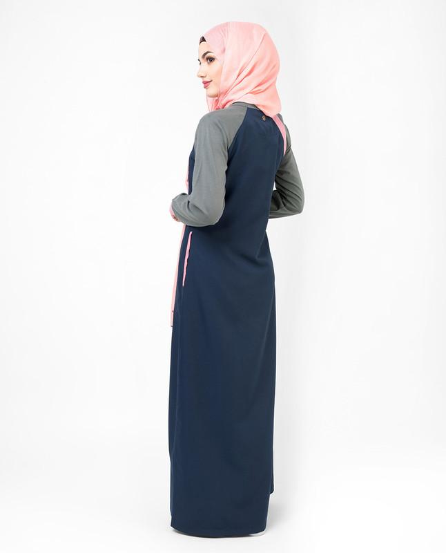 Feminine Pink Comfort Jilbab