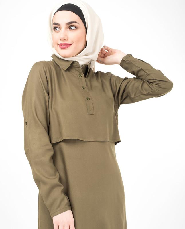 Olive Treasure Jilbab