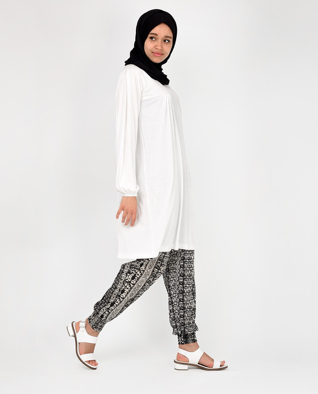 White XLarge Fit Top