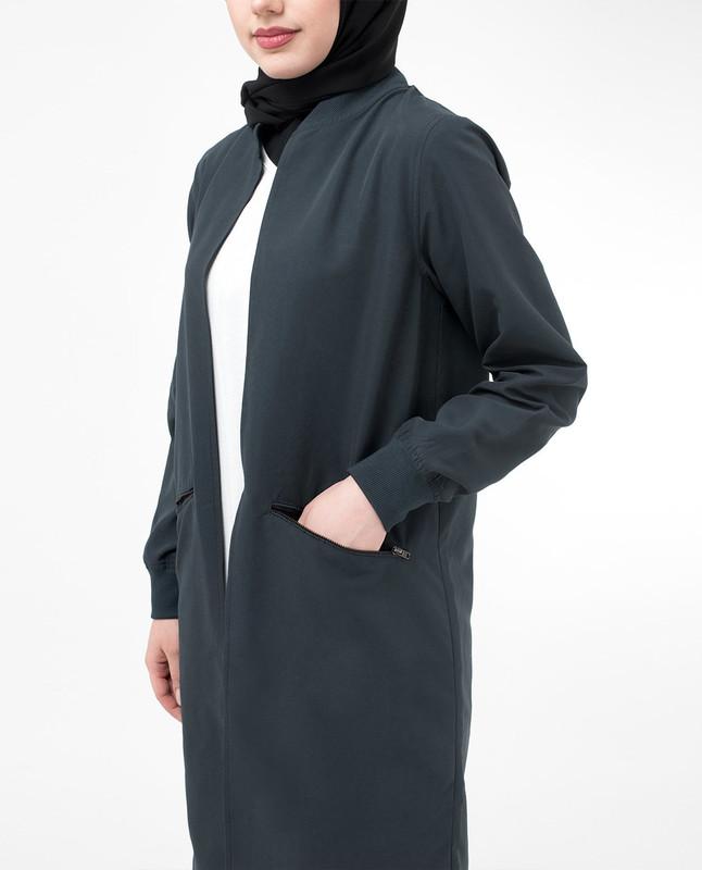 Modest Light Outerwear Jacket