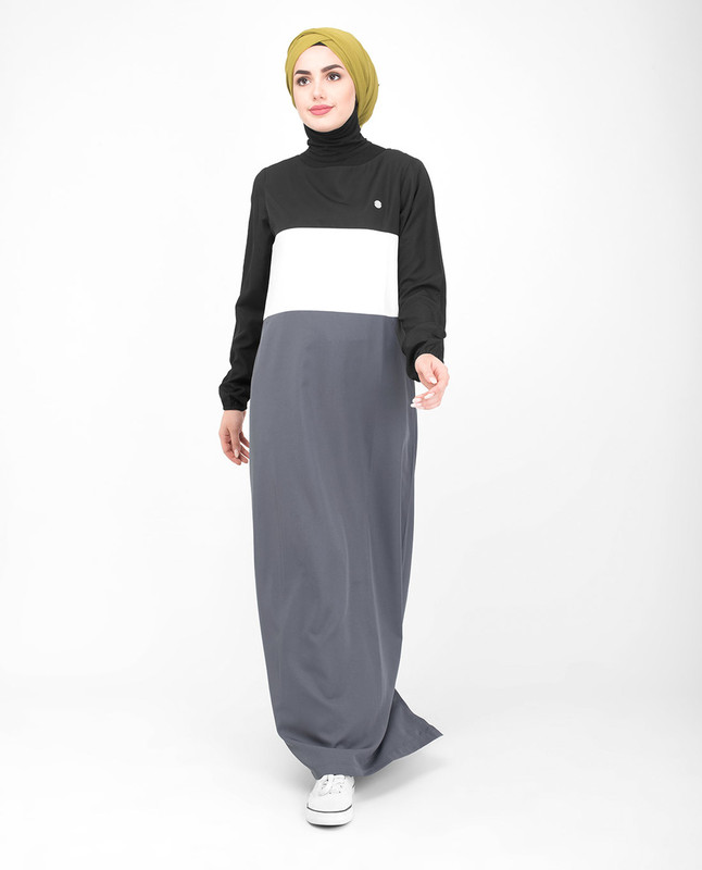 multi color jilbab abaya