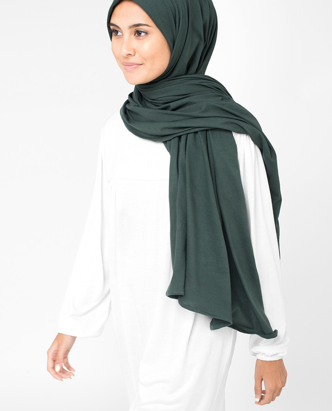 Deep Forest Jersey Hijab