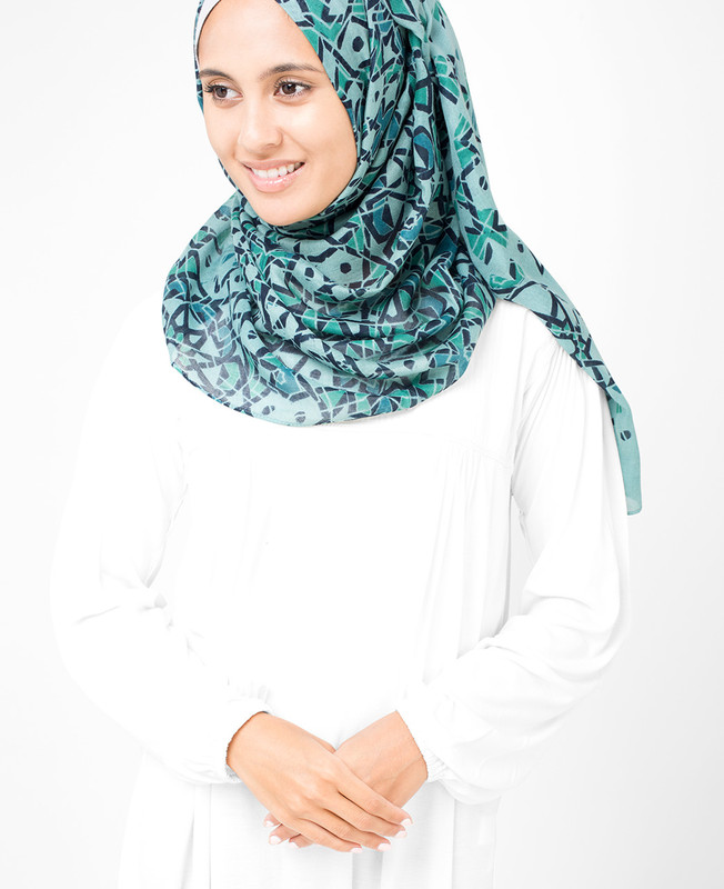 Starlight Blue Hijab