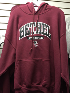 BC ATHLETICS PULLOVER HOOD