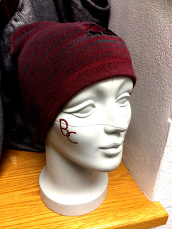BC PATTERNED BEANIE