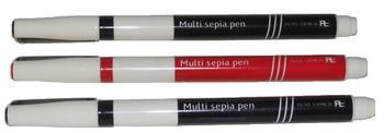 Multi Sepia , Film Opaquer , Retouching Pens , 1mm , FR-FB, Kimoto Pake