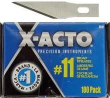 X-acto Knife Blade, Xacto , exacto , Blades , 11M , 100 , X691