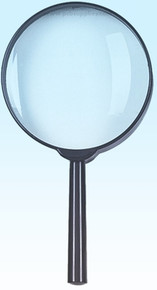10X Magnifier, Hand held, magnifying glass, SE-mh7005b