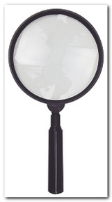 Reading Magnifier , Hand Held , 5 in. diam , so-MH1054