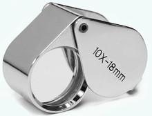 10X Loupe Chrome Doublet Teardrop 18mm , MJ381017I