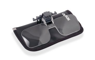 Magnifier Glasses Clip On for Eyeglasses +4.00 OD-14