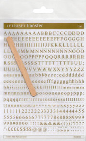 Gold, Letraset, 5mm, Times New Roman, RDC0353