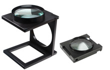 Large Foldable Linen Tester Stand Magnifier , so-MA1102