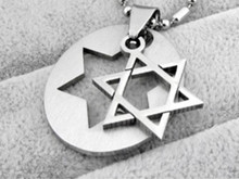 Jewish star of David, pendant, View e