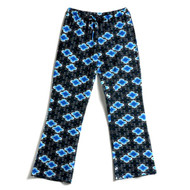 Women's Jersey knit pant in Lotus Black design
