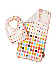 Bib and Burp Set Aero Dot by Tepper Jackson
