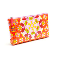 Cosmetic & Travel Purse in Kaleidoscope Pink