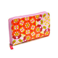 Zip Wallet in Kaleidoscope Pink design