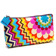 Cosmetic and Travel Purse in Mosaic design