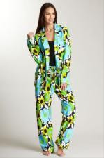 Women's Cotton Knit Lounger Pajama in Bloom