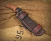 TOPS Tahoma Field Knife PRS Deluxe Scout Sheath