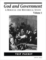 God and Government, Volume 1, Tests