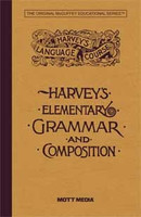 Harvey's Elementary Grammar and Composition, text
