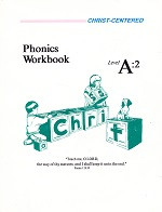 Christ-Centered Phonics Workbook & Key Set, Level A:2