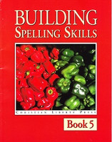 Building Spelling Skills 5, workbook & Answer Key Set