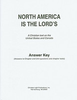 North America is the Lord's: Text, Tests Key