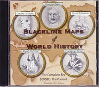 Blackline Maps of World History: The Complete Set
