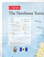 Canadian Geographic: The Northwest Territories Map