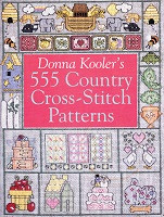 Donna Kooler's 555 Country Cross-Stitch Patterns