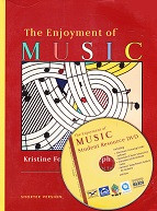 Enjoyment of Music, 10th edition, text & DVD Set